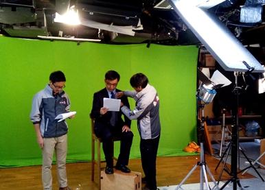 汉声(贵金属)首席投资总监赖辉鸿先生获邀参与拍摄