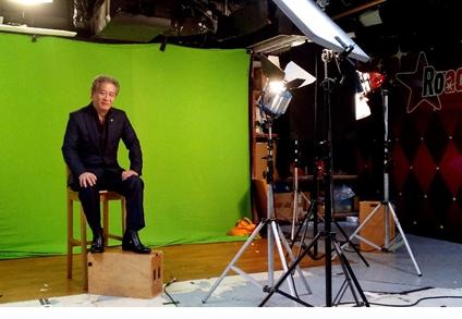 金银业贸易场理事长张德熙博士参与拍摄